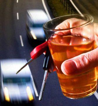 accidentes de circulación alcohol daños
